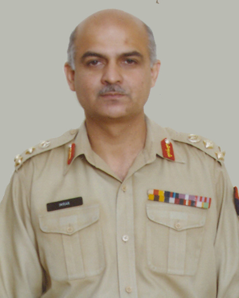 Lt. Gen. Imran Majeed (File Photo)