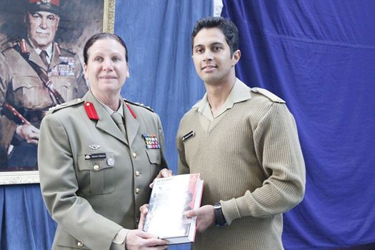 Ex Cadet Umar Aslam gets Best Overseas Cadet Award in Australia