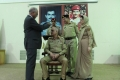Lt. Gen. Imran Majeed wears his new ranks