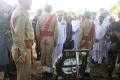 Prof Dilshad Hussain buried in Army Graveyard Rawalpindi